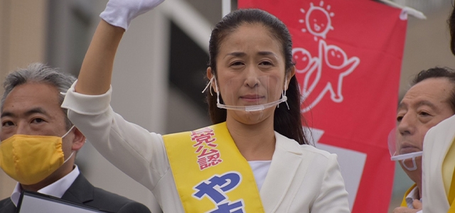 東京都議会議員補欠選挙街頭演説会 @赤羽駅西口